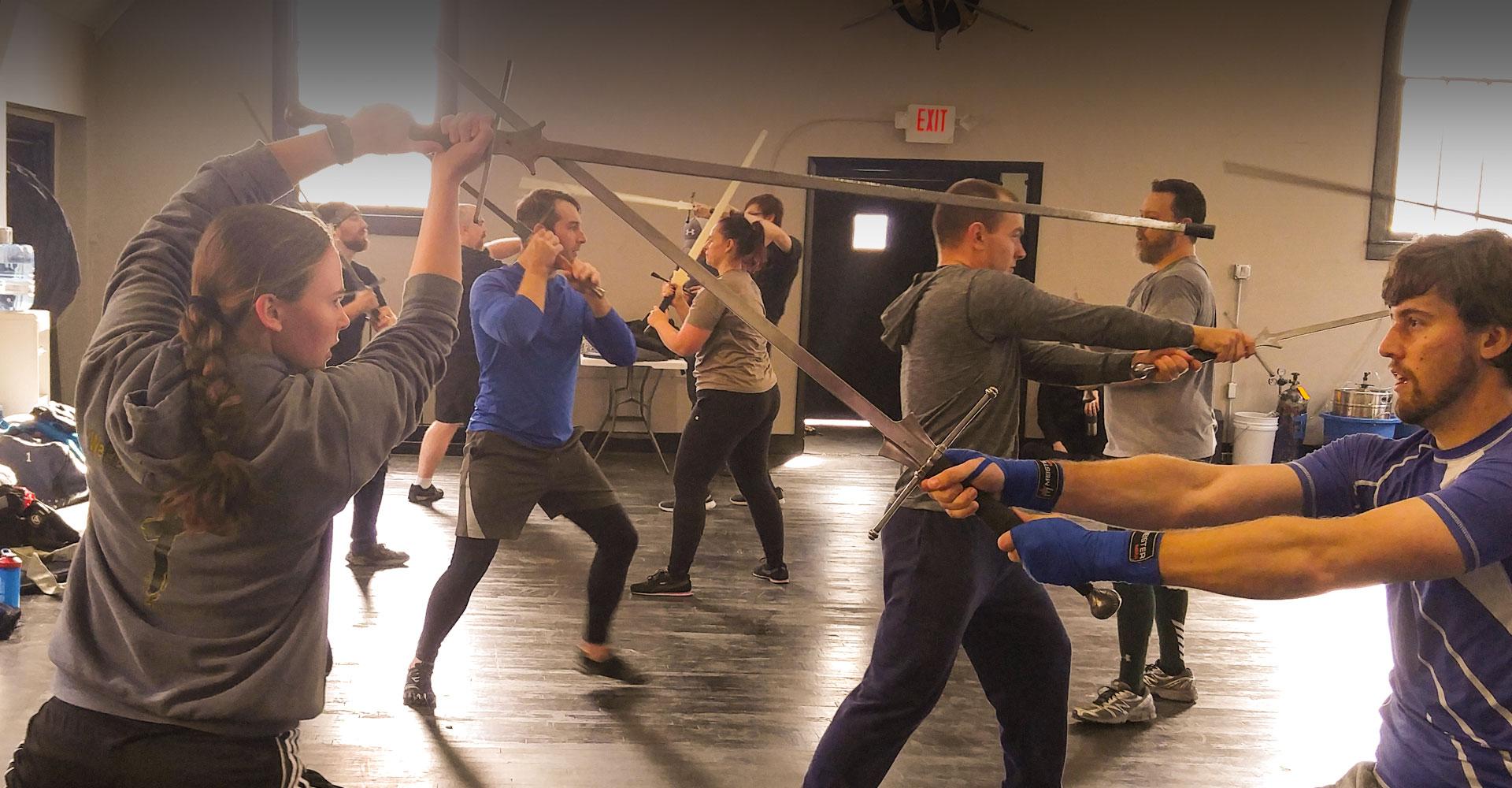 Intro to Sword Fighting